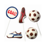 Football Chocolate Lollipop Mould