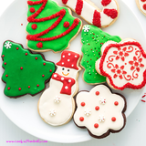 Miniature Christmas Cookie Cutters Each