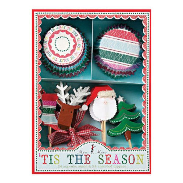 Meri Meri 'Tis The Season Cupcake Kit
