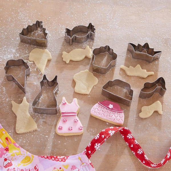 8 Piece Princess Cookie Cutter Set