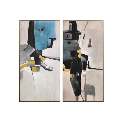 set of 2 wall art|طباعة