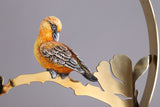 تحف ذهبية | Gold Sculpture Bird