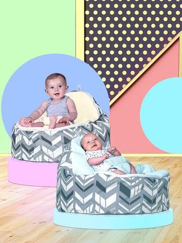 Chevron Baby Bean Bag