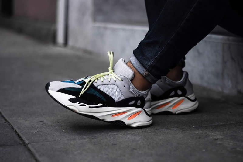 reputable site 52c37 dbbd0 UA adidas Yeezy Wave Runner 700 Solid Grey – Snoozeheads
