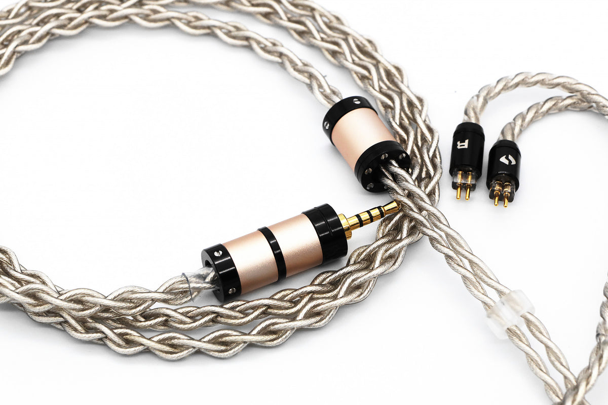 AAW Aoraki Platinum Core Tri-Hybrid Headphone/IEM Cable