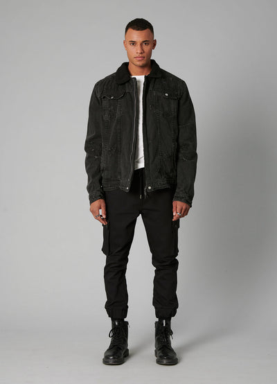BEkelvyn Denim - black used