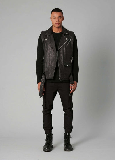 BEjeff Vest - black - BE EDGY Berlin