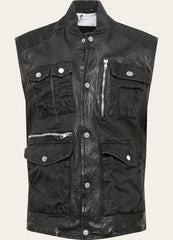 BEjoko Vest - black - BE EDGY Berlin
