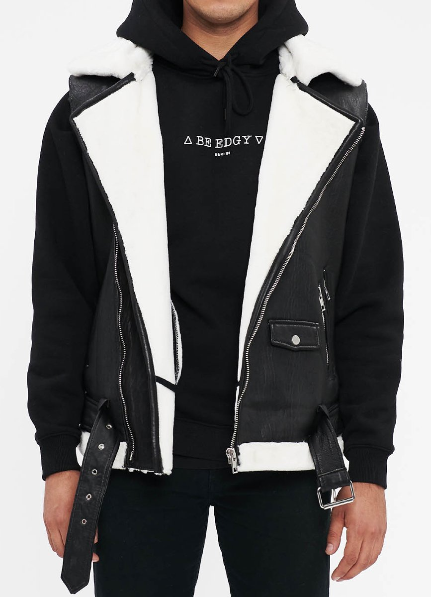 BElasse Vest - black/offwhite - BE EDGY Berlin