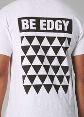 BEniclas - white printed - BE EDGY Berlin