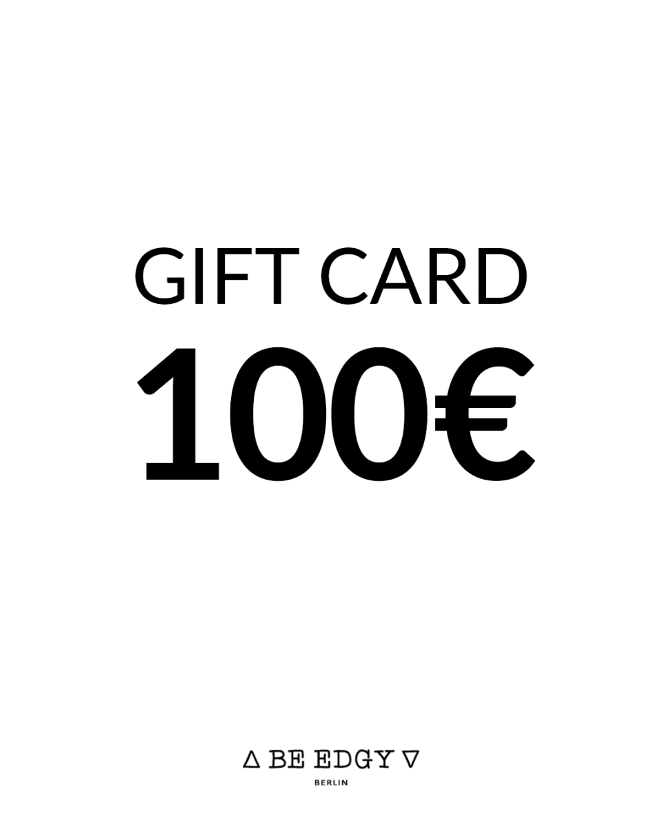 GIFT CARD 100 EUR - BE EDGY Berlin