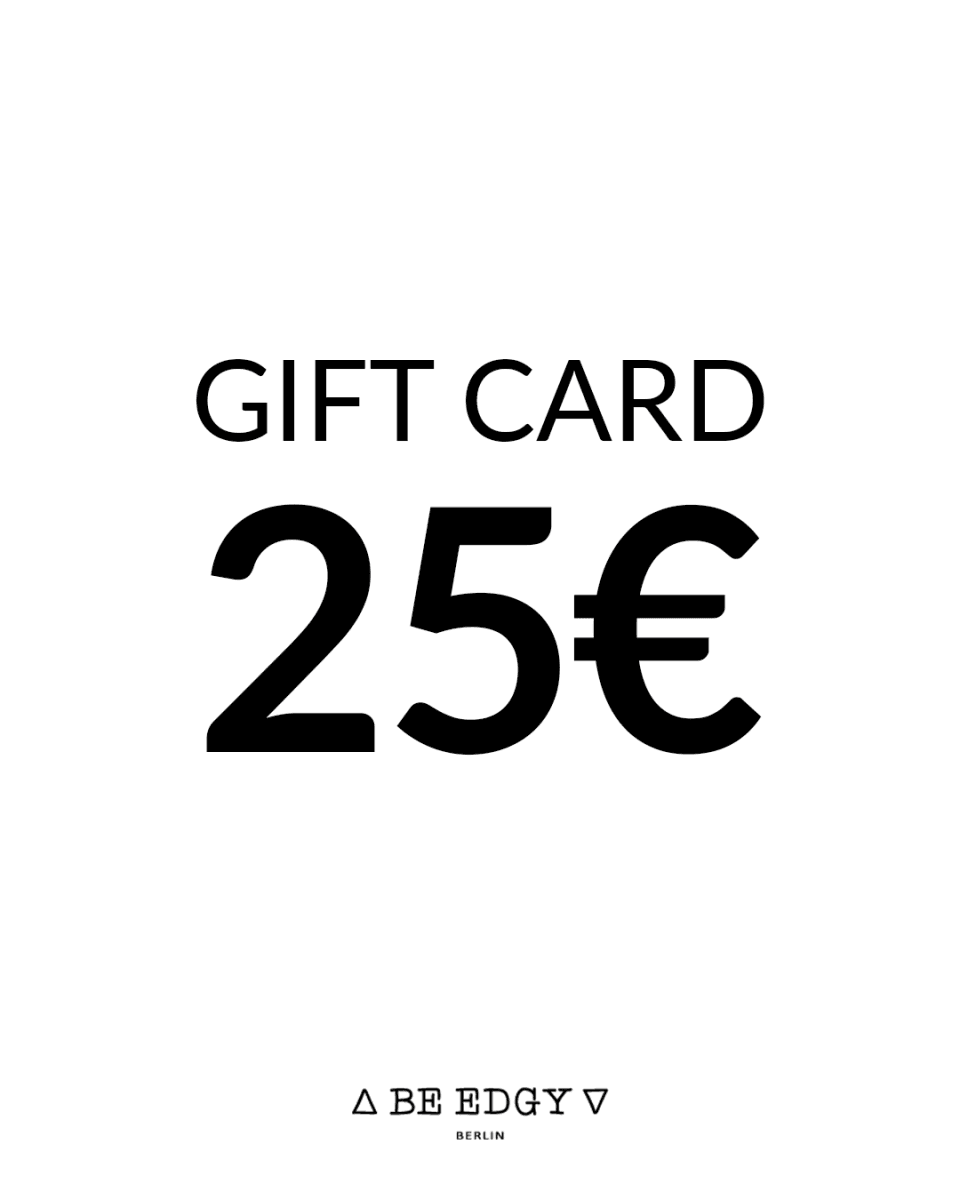 GIFT CARD 25 EUR - BE EDGY Berlin