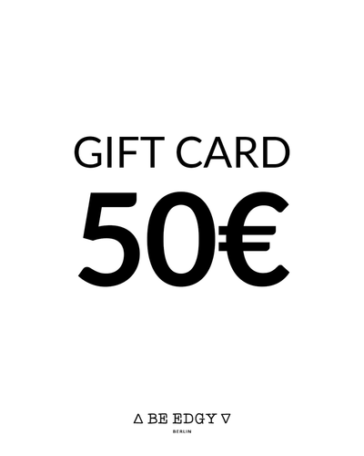 GIFT CARD 50 EUR - BE EDGY Berlin