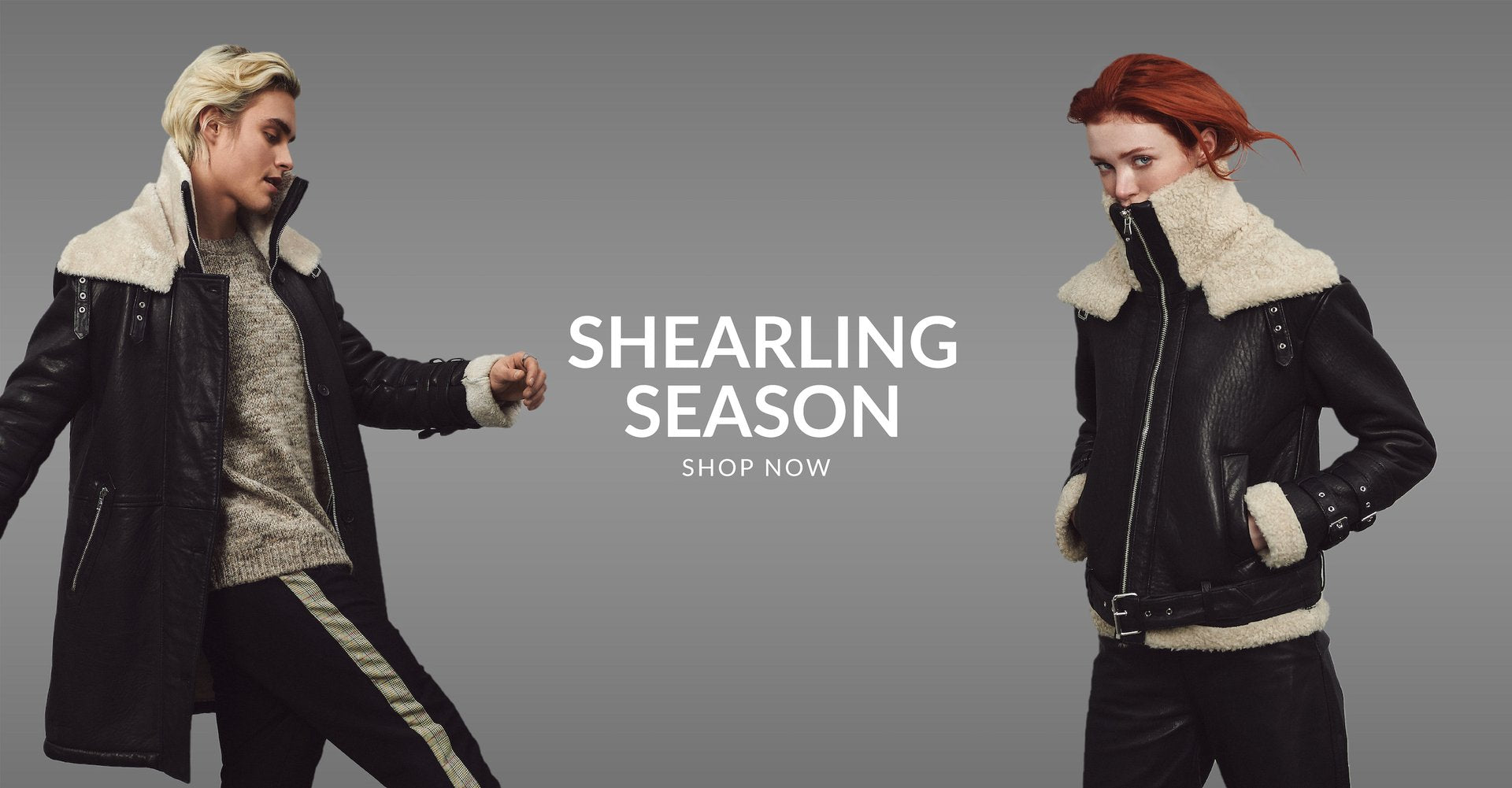 Be Edgy Berlin Shearling Season