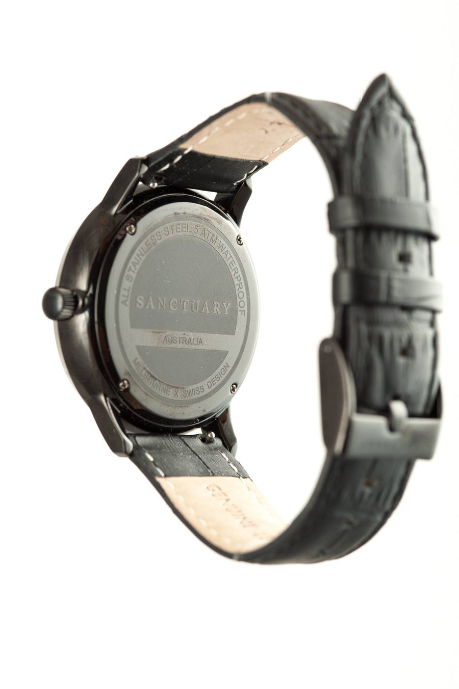 Matterhorn Black Marble / Black on Black Marble Watch
