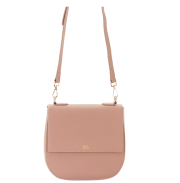 The Thornbury Nude Crossbody Messenger Bag