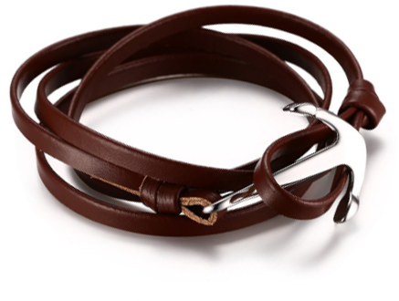 The Sea Anchor Brown leather