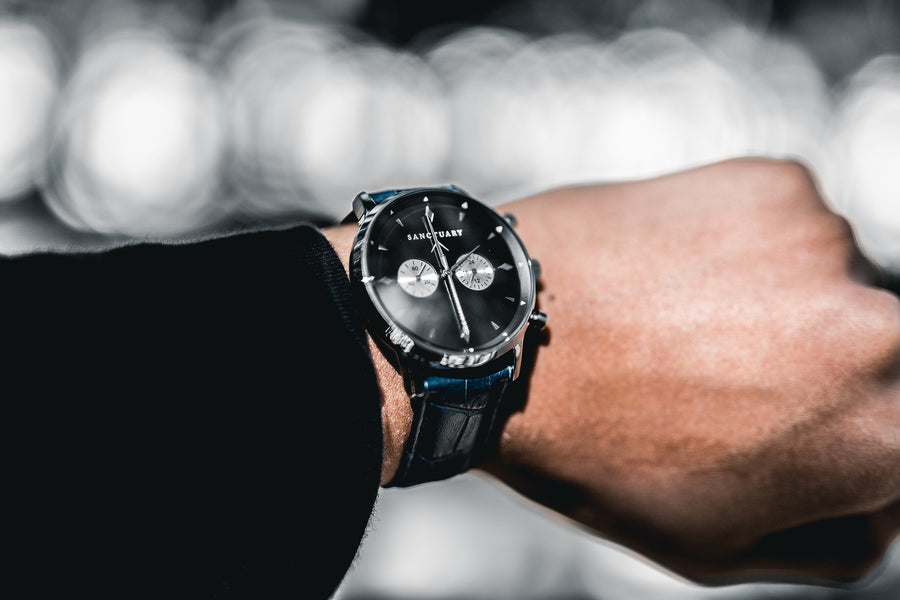Toorak Black Classic / Silver & Black Watch