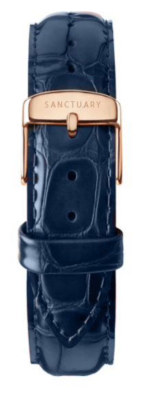 Hermes Royal Blue Leather Strap