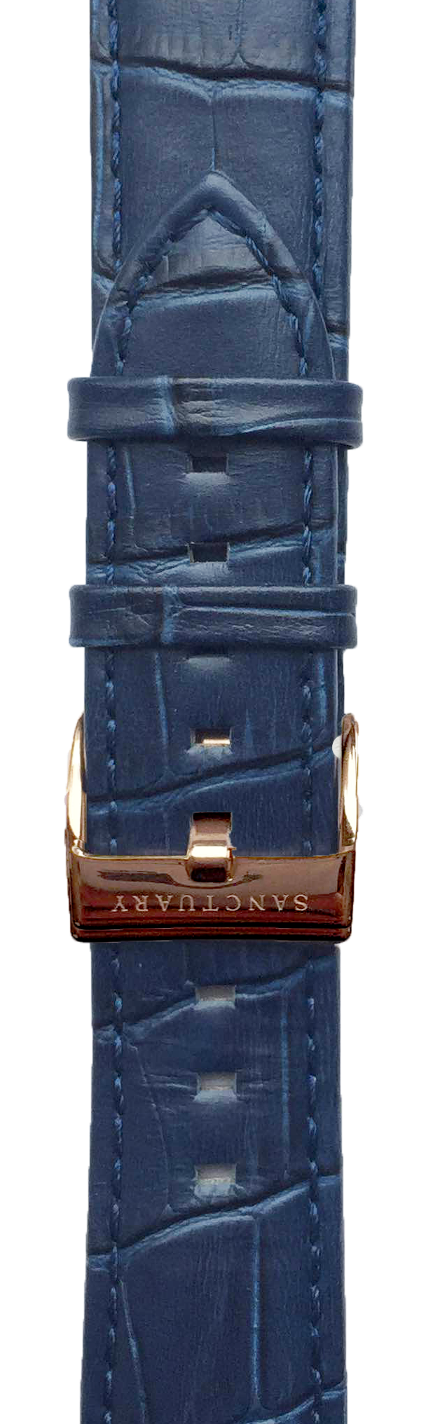 Hermes Royal Blue Leather Strap - Sanctuary Luxury Watches