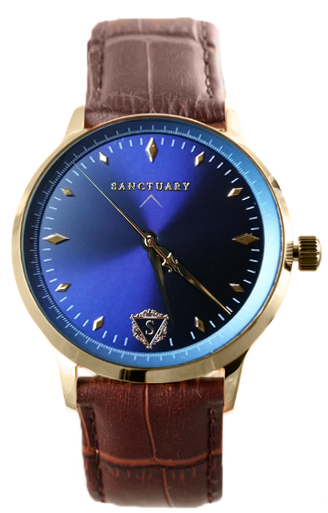 The Royal Etienne (Automatic) / Gold & Blue