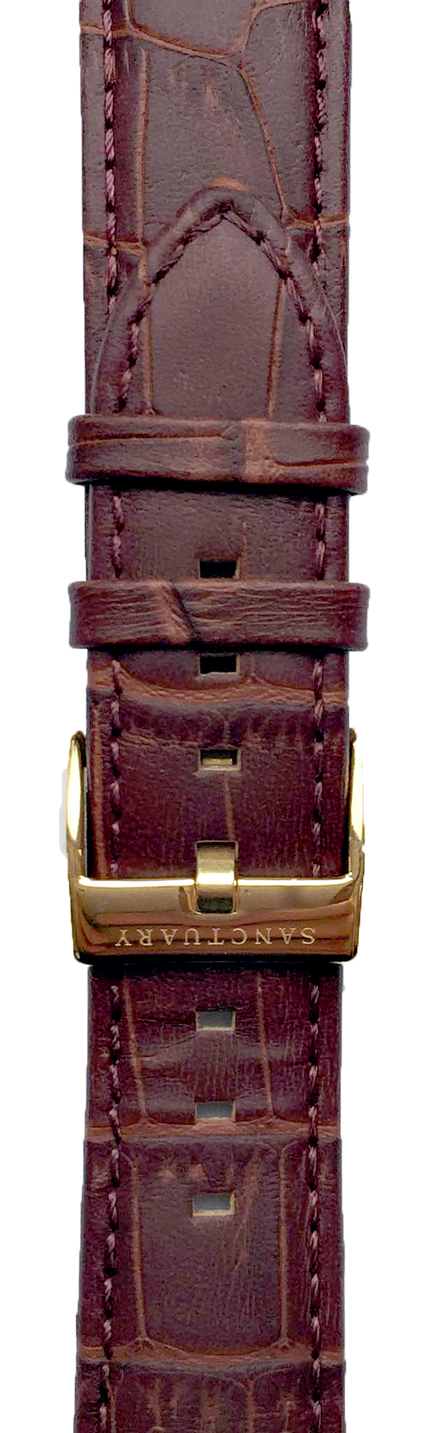 Chestnut Brown Leather Strap - Sanctuary Luxury Watches