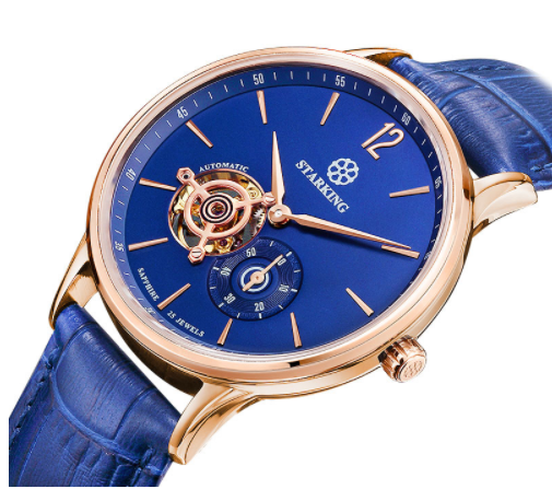 Sanctuary Watches - SK Swiss Automatic Oceanic Blue Watch