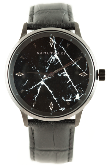 Matterhorn Black Marble / Black on Black Marble - Sanctuary Luxury Watches