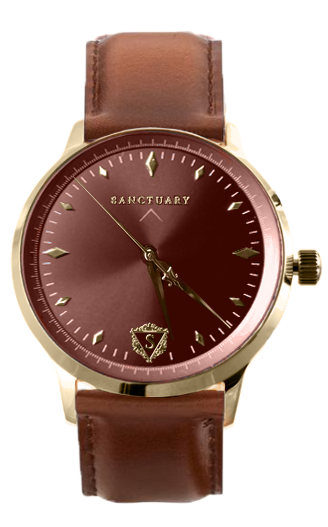 The Royal Valais (Automatic) / Gold & Burgundy
