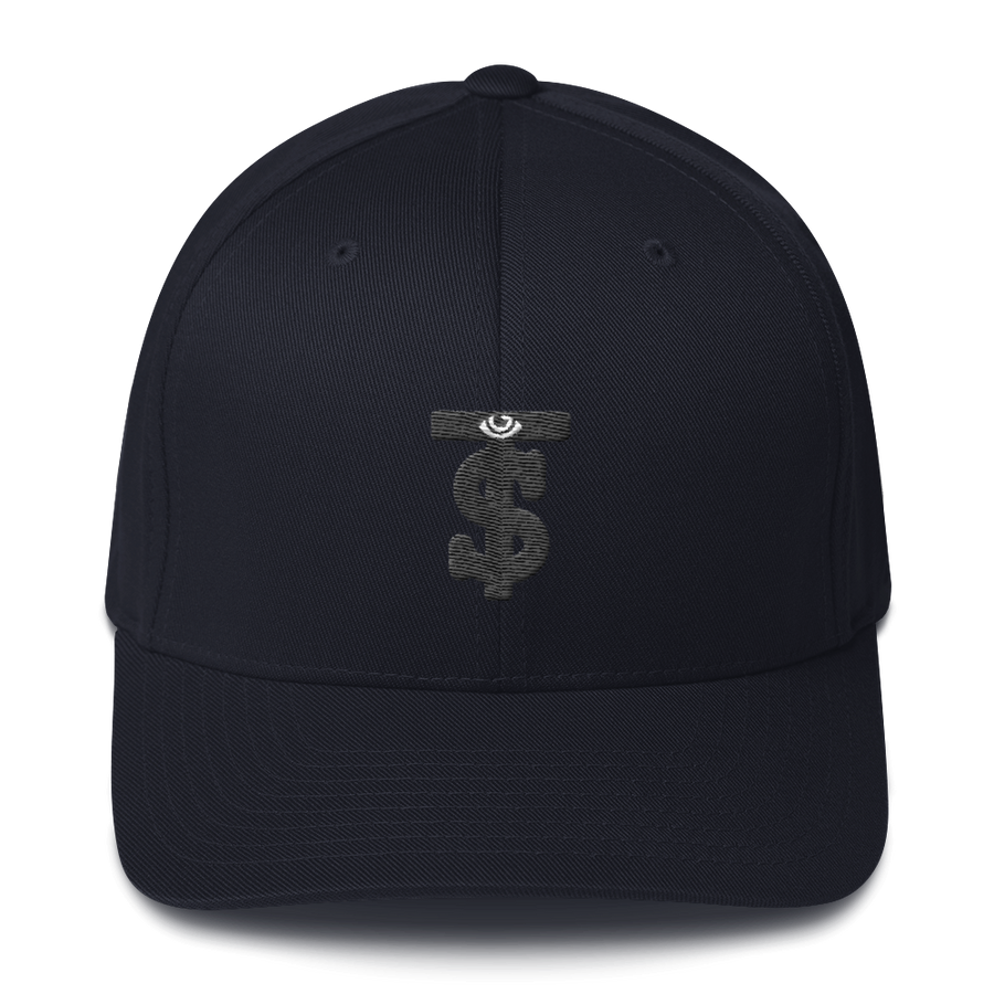Monogram Embroidered Motif Baseball Cap