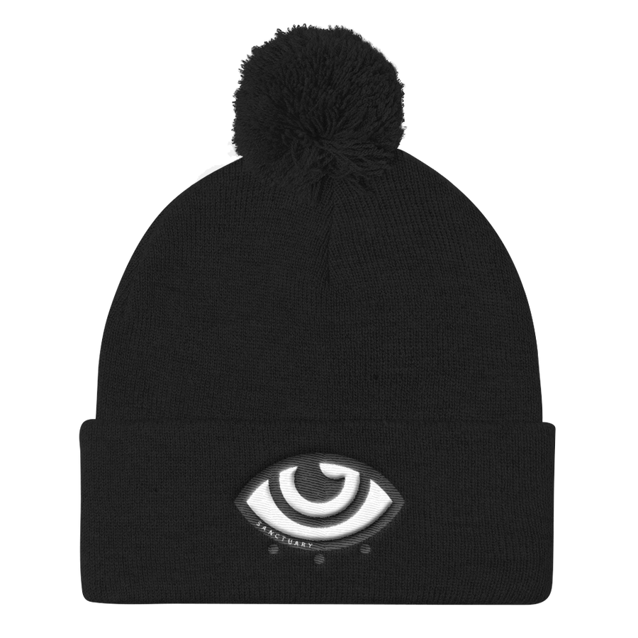 Sanctuary's Pom-pom Embroidered Beanie