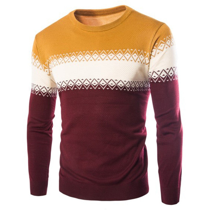 Autumn Coloured Warm Cashmere Sweater