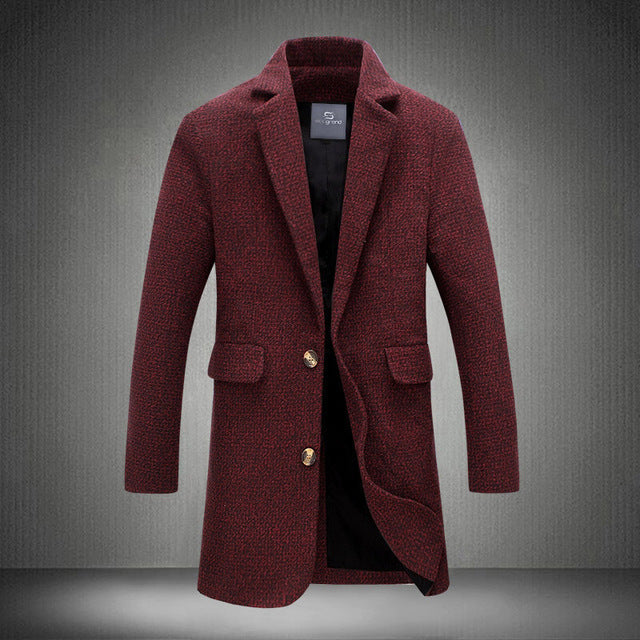 HG  Long Traditional Overcoat