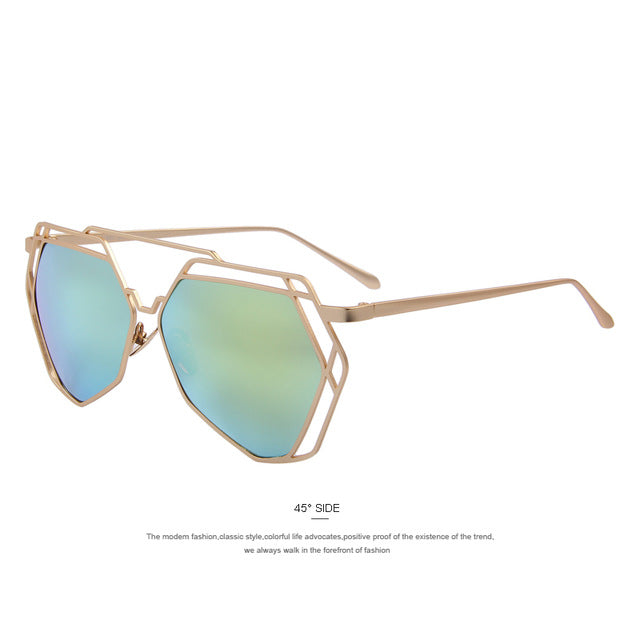 The Heptose Sunglasses Classic Designer Double-Bridge Shades