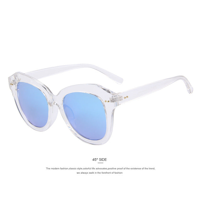 Brilliant Blue Sunglasses Classic Designer Summer Sunglasses