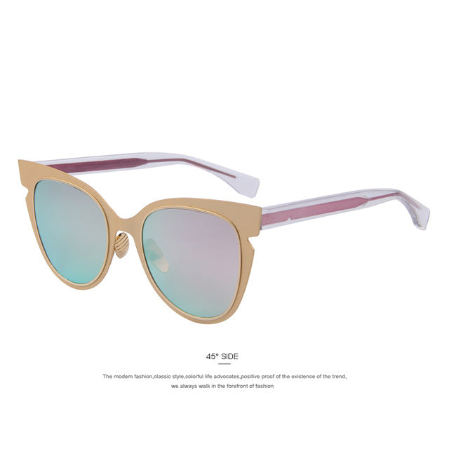 The Flare Gradient Pink Cat Eyes Women Sunglasses