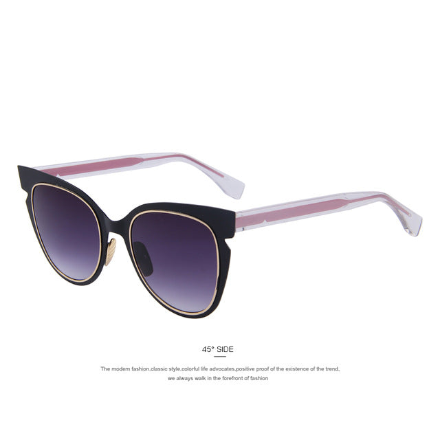 The Flare Purple Cat Eyes Women Sunglasses