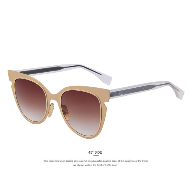 The Flare Brown Cat Eyes Women Sunglasses