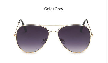 The One Gradient Purple Aviator Sunglasses
