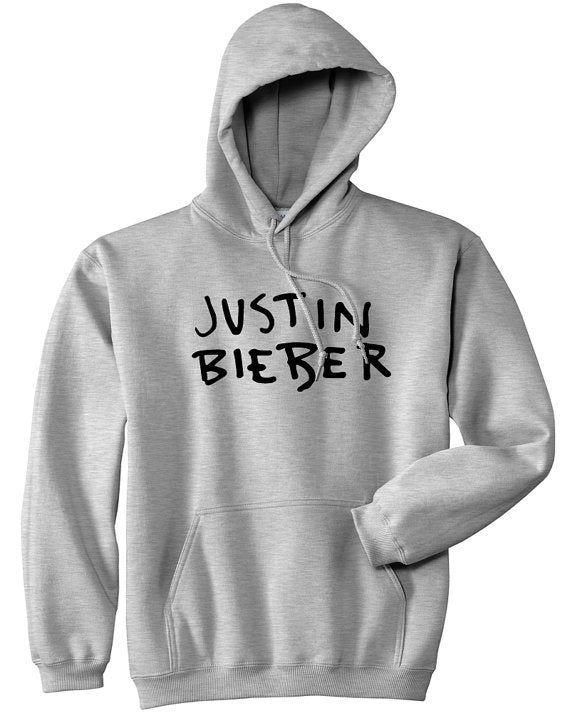 JUSTIN BIEBER  hoodie fleece high quality jumper
