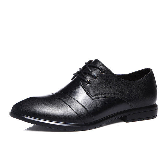 London Crown Leather Business Sapatos Masculino