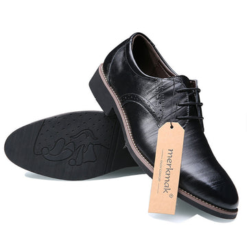 Lexthur Leather Brogue Suit Shoes