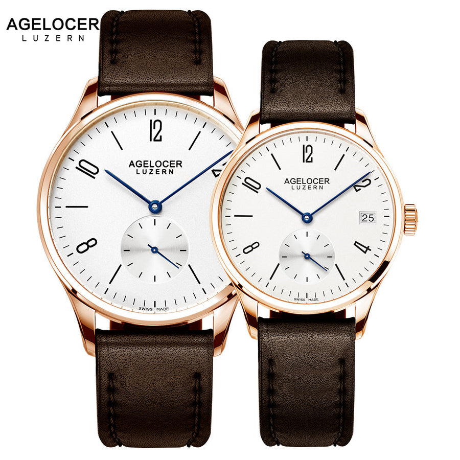 Swiss The Agelocer - Couple Watch