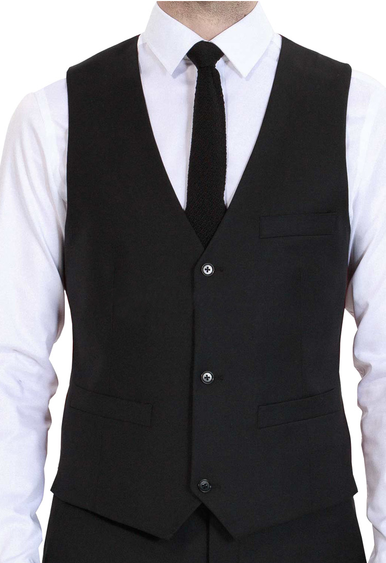 Executive Slim Fit Blazer Suit Vest & Trousers (3 Piece Outfit)