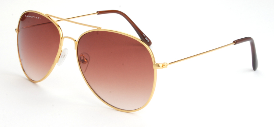 The Paris / Gradient Brown Aviator Frames