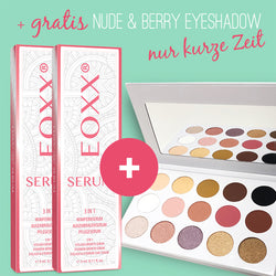 2x Wimpernserum EOXX SERUM (3ml) + GRATIS Eyeshadow nude & berry EOXX SWEET MORNING