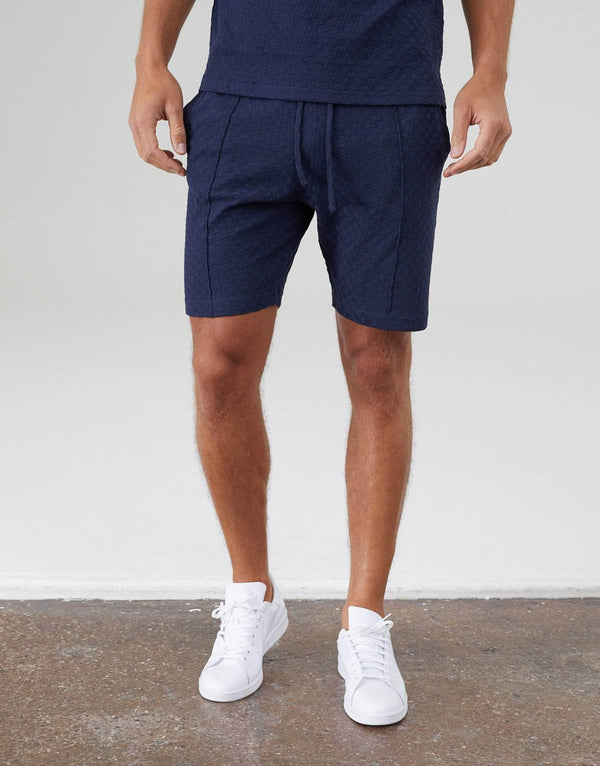 Ainsdale Twin Set Shorts - Navy