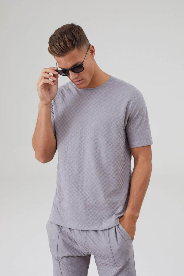Ainsdale Twin Set T-Shirt - Silver