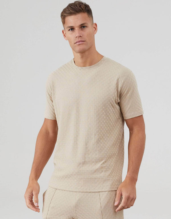 Ainsdale Twin Set T-Shirt - Stone
