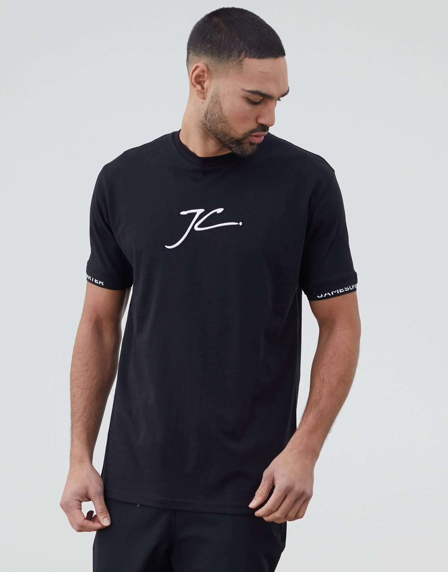 Jameson Carter T-Shirts, sale Alders T Shirt - Black